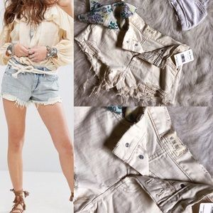 Free People Daisy Chain Lace Short in white